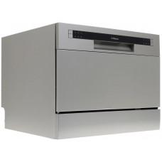 Посудомоечная машина компактная Hansa ZWM536SH (настольная 6 комп. сереб)