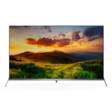65 TCL L65P8SUS стальной 3840x2160, Ultra HD, 60 Гц, Frameless, Wi-Fi, SMART TV, DVB-T2, DVB-C, HDMI, USB