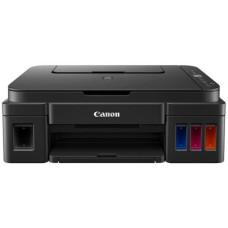 МФУ CANON G2411 СНПЧ, A4, струйная цветная, 4-цветная, 8.8 изобр./мин ч/б, 5 изобр./мин цветн., 4800x1200 dpi, подача: 100 лист., USB, печать фотографий, ЖК-панель