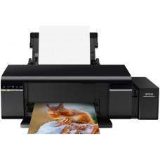 Принтер EPSON L805, СНПЧ, Wi-Fi, A4, струйная цветная, 6-цветная, 37 стр/мин ч/б, 38 стр/мин цветн., 5760x1440 dpi, подача: 120 лист., вывод: 50 лист., USB