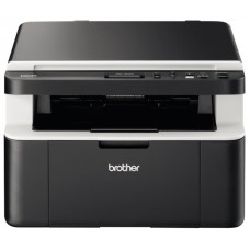 МФУ BROTHER DCP-1612WR, Wi-Fi, A4, лазерная ч/б, 20 стр/мин, 2400x600 dpi, 32 Мб, подача: 150 лист., вывод: 50 лист., USB, ЖК-панель