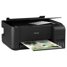 МФУ EPSON L3100, СНПЧ, A4,  струйная цветная, 4-цветная, 33 стр/мин ч/б, 5760x1440 dpi, подача: 100 лист., USB, печать фотографий (замена L222)