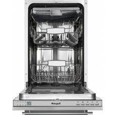 Встраиваемая посудомоечная машина Weissgauff BDW 4543 D  (45 см 9 комп.1/2 загр. дисп)