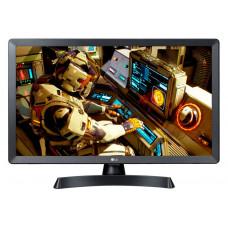 28 LG 28TL510S-PZ чёрный 1366x768, HD READY, 50 Гц, Wi-Fi, SMART TV, DVB-T2, DVB-C, DVB-S2, USB, HDMI