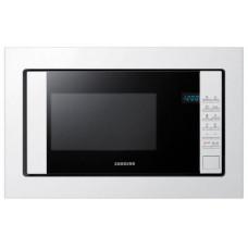 Встраиваемая микроволновая печь Samsung FW77SUW 20л. 850Вт белый/черный