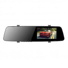 DVR Dixon M2, 3 в 1: Авторег/Зеркало/2 камеры, 1920x1080/24 fps/170°, задняя 640x480/120°, LCD 4,5, AVI (H.264), G-sensor, USB, microSD (до 32GB), Night Vision, парктроник, 200mAh
