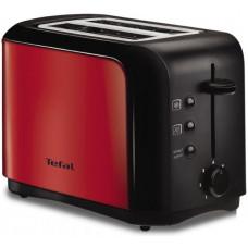 Тостер Tefal TT356E30 (850Вт.металл.черн/красн)