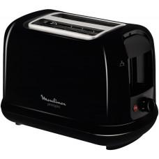 Тостер Moulinex LT160830 720Вт черный