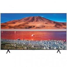 75 Телевизор SAMSUNG 75TU7100 темно-серый 3840x2160, Ultra HD, 100 Гц, WI-FI, SMART TV, AV, HDMI, USB, DVB-C, DVB