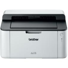 Принтер Brother HL-1110R, лазерный, A4, монохромный, ч.б. 20 стр/мин, печать 2400x600, лоток 150 листов, USB