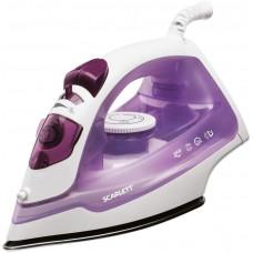 Утюг SCARLETT SC-SI30S06 белый/фиолетовый
