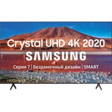 70 Телевизор SAMSUNG 70TU7100 чёрный 3840x2160, Ultra HD, 100 Гц, WI-FI, SMART TV, AV, HDMI, USB, DVB-C, DVB-T2, DVB-S2