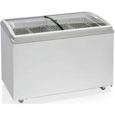 Морозильный ларь Бирюса 355CZQ (77,5*120,5*63,гнутое стекло)