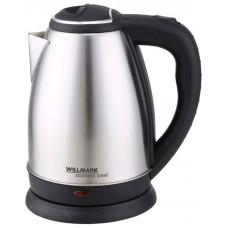 Чайник Willmark WEK-1808SS матовый черный (1.8л,нерж)
