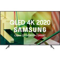 75 Телевизор SAMSUNG 75Q70TA темно-серый 3840x2160, Ultra HD, QLED-телевизор, 100 Гц, WI-FI, SMART TV, AV, HDMI, USB, DVB-C, DVB-T2, пульт Smart Control
