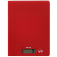 Весы кухонные Willmark WKS-511D (5кг,красный)