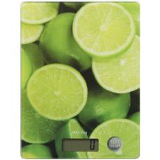 Весы кухонные Willmark WKS-511D (5кг.лайм)