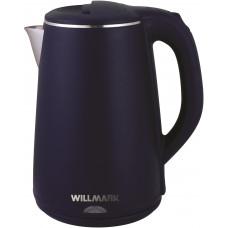 Чайник Willmark WEK-2002PS (2 л.термос,2-е стенки.синий)