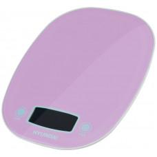Весы кухонные HYUNDAI HYS-KA521 фиолетовый
