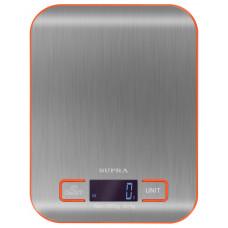 Весы кухонные SUPRA BSS 4076N серебристый