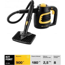Пароочиститель ручной KITFORT КТ-930 900Вт черный/оранжевый