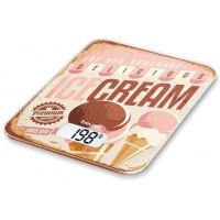 Весы кухонные электронные BEURER KS19 Ice Cream макс.вес:5кг рисунок
