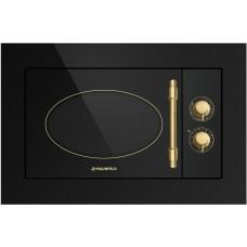 Встраиваемая микроволновая печь MAUNFELD JBMO.20.5GRBG черный (ретро, стекло)