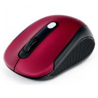 Мышь Gembird MUSW-420-1 Red, Wireless, USB, 4кн.+колесо-кнопка, 2.4ГГц, 1600 dpi
