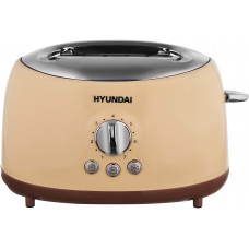 Тостер HYUNDAI HYT-8004 бежевый/коричневый