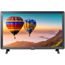 24 LG 24TN520S-PZ чёрный 1366x768, HD READY, 50 Гц, Wi-Fi, SMART TV, DVB-T2, DVB-C, DVB-S2, USB, HDMI