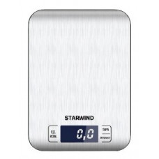Весы кухонные электронные STARWIND SSK6673 макс.вес:5кг серебристый