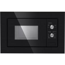 Встраиваемая микроволновая печь MAUNFELD MBMO.20.1PGB черный стекло