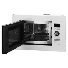 Встраиваемая микроволновая печь MIDEA AG820BJU-WH белый, стекло