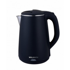 Чайник Willmark WEK-2002PS (2 л.термос,2-е стенки.черный)