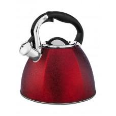 Чайник со свистком Hoffmann НМ 55108-1 3,0л красный