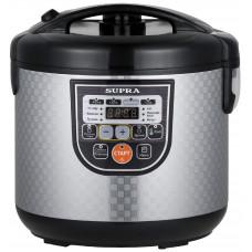 Мультиварка SUPRA MCS-5115 серебристый/черный