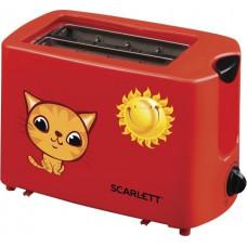 Тостер SCARLETT SC-TM11010 красный