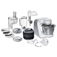 Кухонный комбайн BOSCH MUM58252RU 1000Вт белый/серебристый