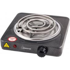 Плитка электрическая Homestar HS-1103 (1кВт.спираль.серая)