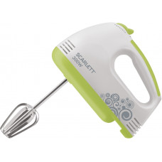 Миксер ручной SCARLETT SC-HM40S05 белый/зеленый