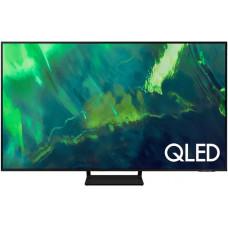 75 Телевизор SAMSUNG 75Q70AA темно-серый 3840x2160, QLED, Ultra HD, 100 Гц, WI-FI, SMART TV, AV, HDMI, USB, DVB-C, DVB-T2, пульт Smart Cont