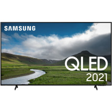 75 Телевизор SAMSUNG 75Q60AA черный 3840x2160, QLED, Ultra HD, 100 Гц, WI-FI, SMART TV, пульт Smart Control, AV, HDMI, USB, DVB-C, DVB-T2