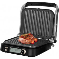 Электрогриль-духовка REDMOND Steak Master RGM-M825P черный/шампань