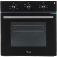 Духовой шкаф электрический making OASIS everywhere D-MB5 (F) черный (стекло)